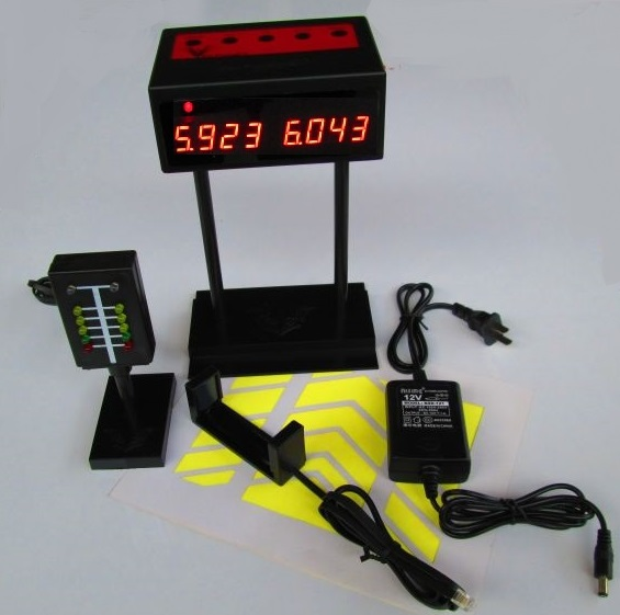 Stand-Alone Slot Car Lap Timer with precision start